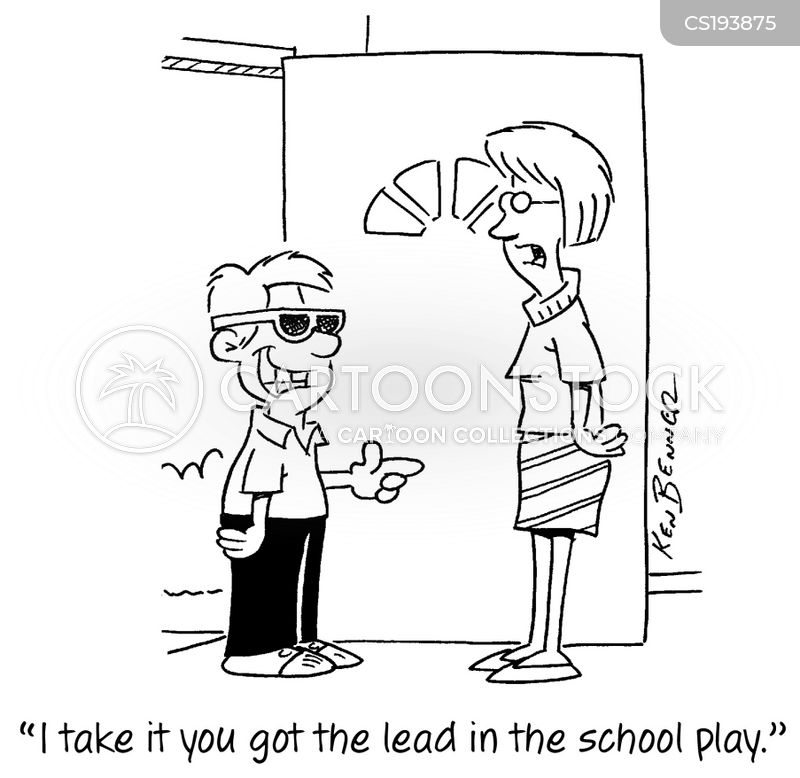 drama lessons cartoon