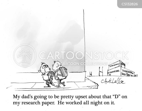 homework projects cartoon