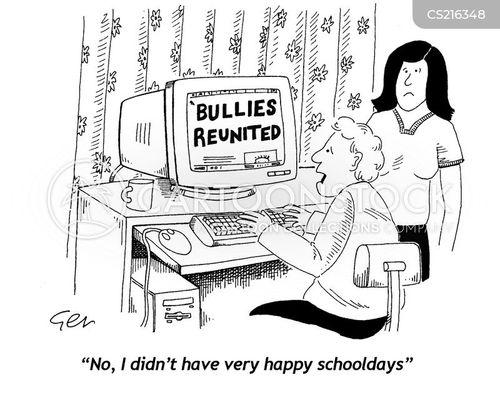 happy childhood cartoon