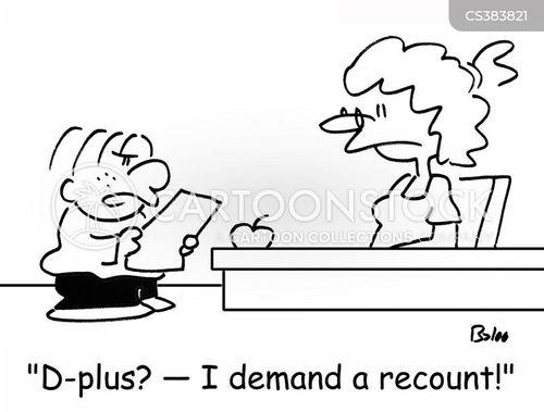 recounts cartoon
