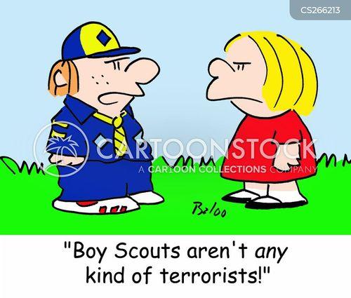 scouting movement cartoon