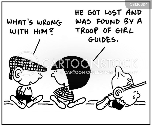 girl guides cartoon