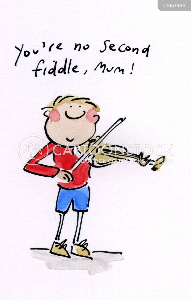Second Fiddle Cartoons And Comics Funny Pictures From Cartoonstock