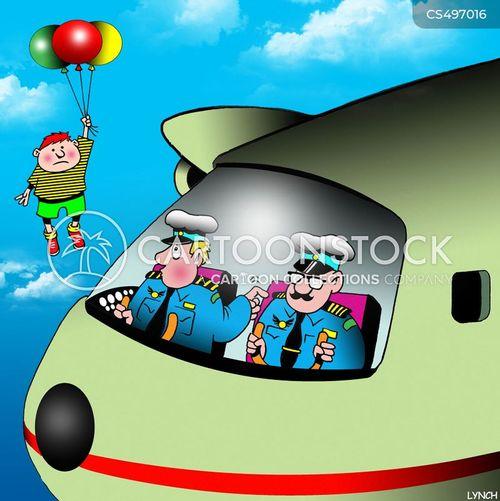 airline pilots cartoon