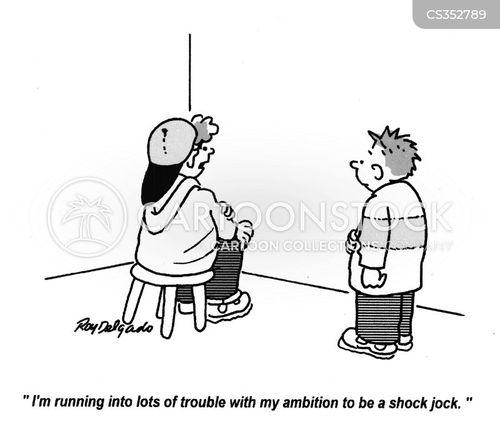 shock jocks cartoon