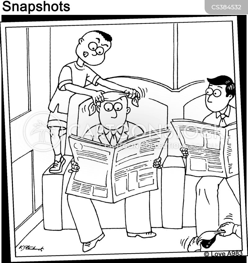 shoe-shine cartoon