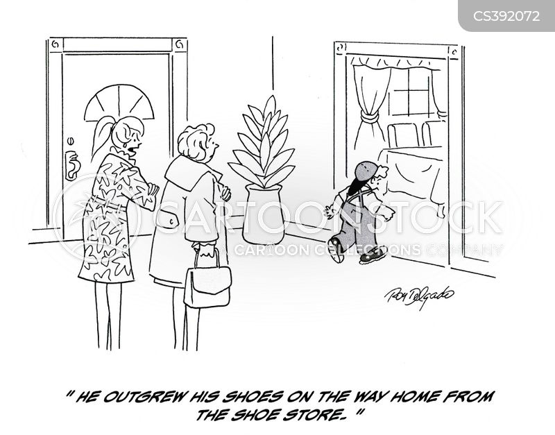 outgrow cartoon