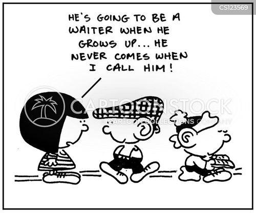 summons cartoon