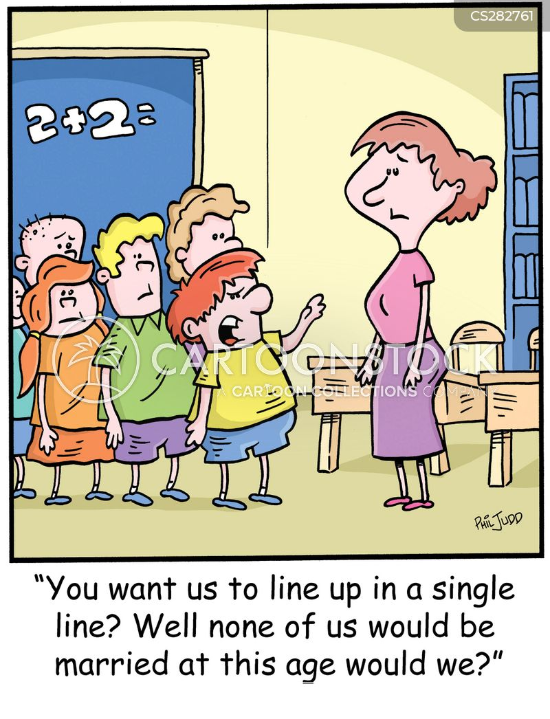 class teacher cartoon