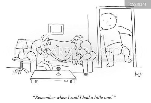 big baby cartoon