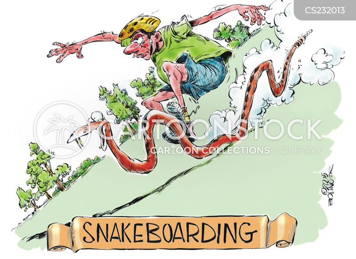 dangerous sport cartoon