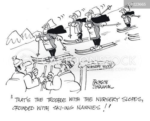 nursery slopes cartoon