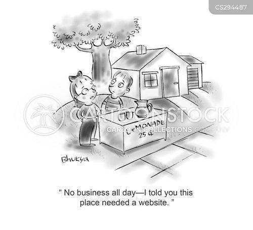 slow day cartoon