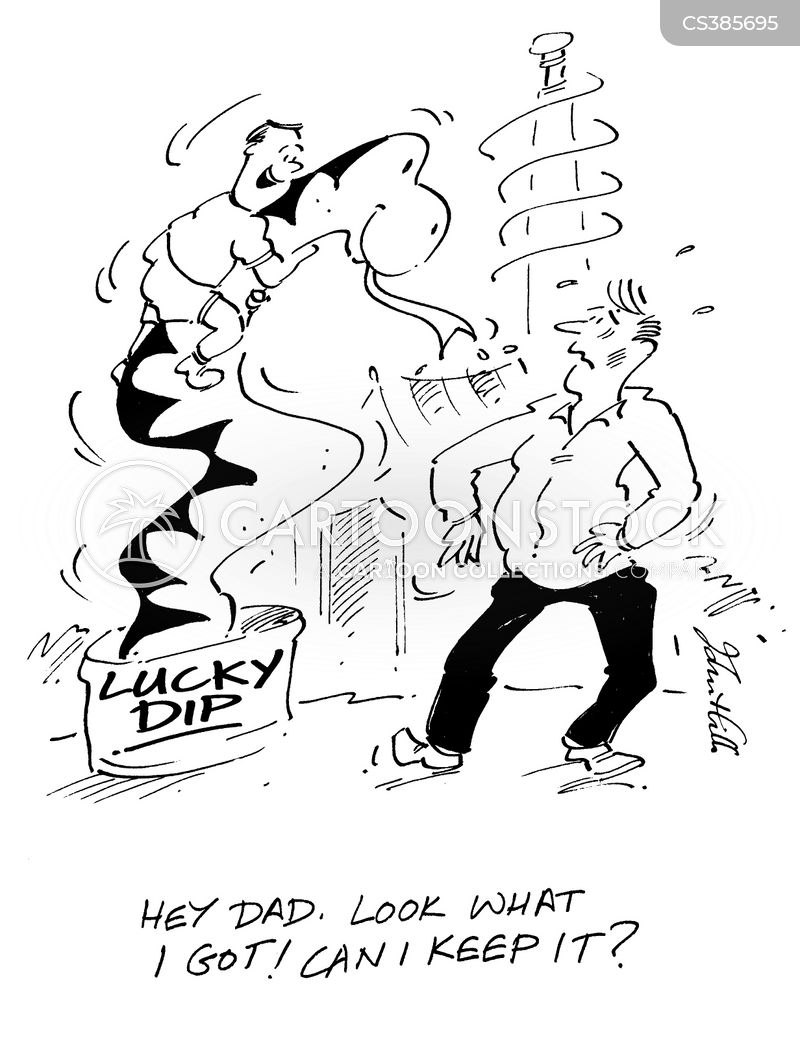 lucky dip cartoon