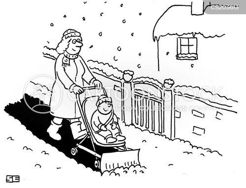 pushchairs cartoon