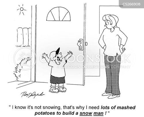 mashed cartoon