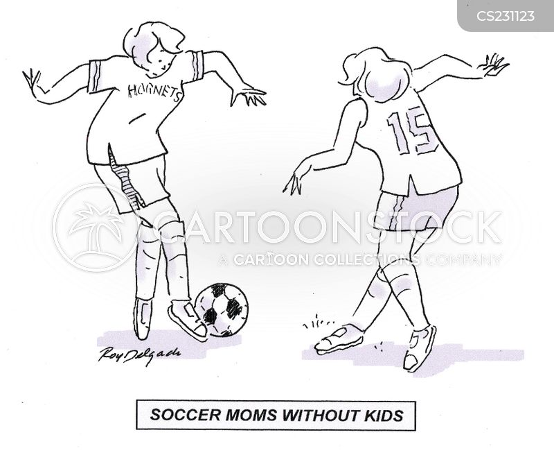 soccer moms cartoon
