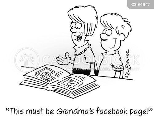 photo album cartoon