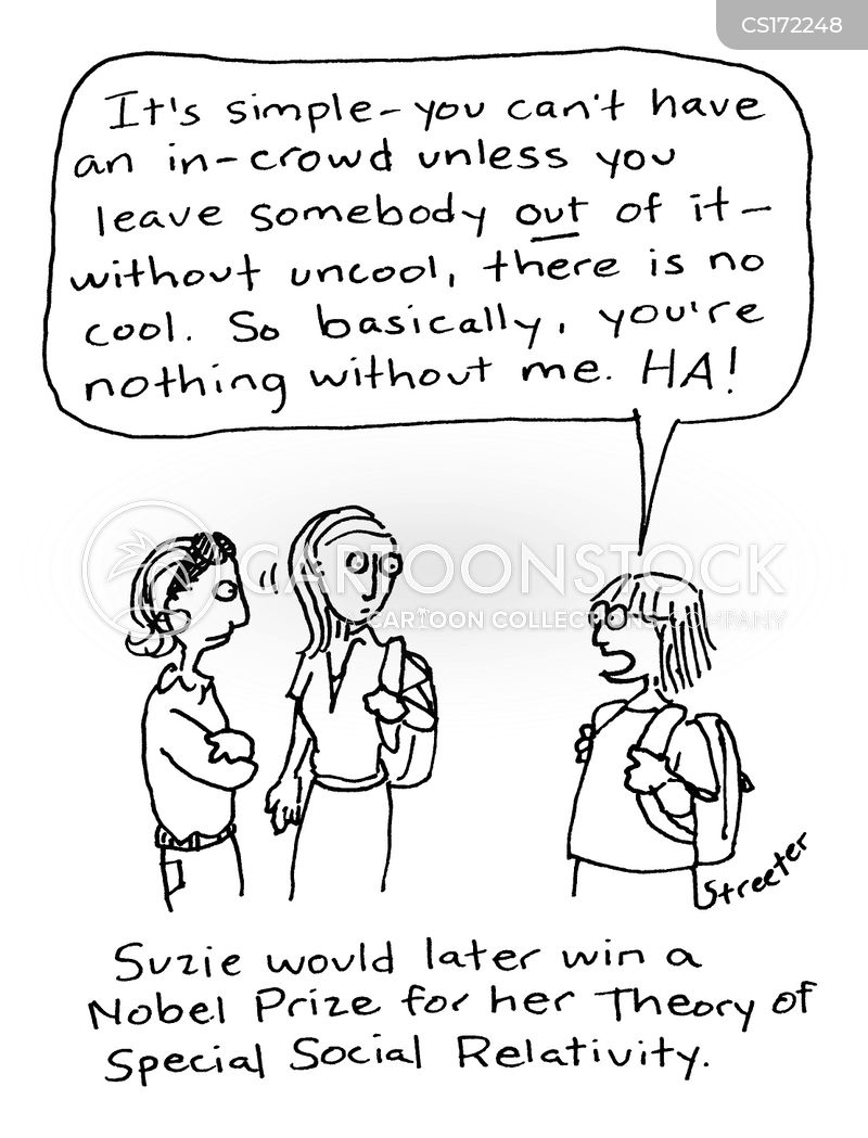 in-crowd cartoon