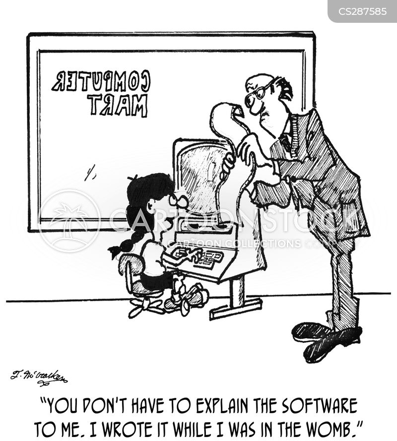 Computer Education Cartoons and Comics - funny pictures from