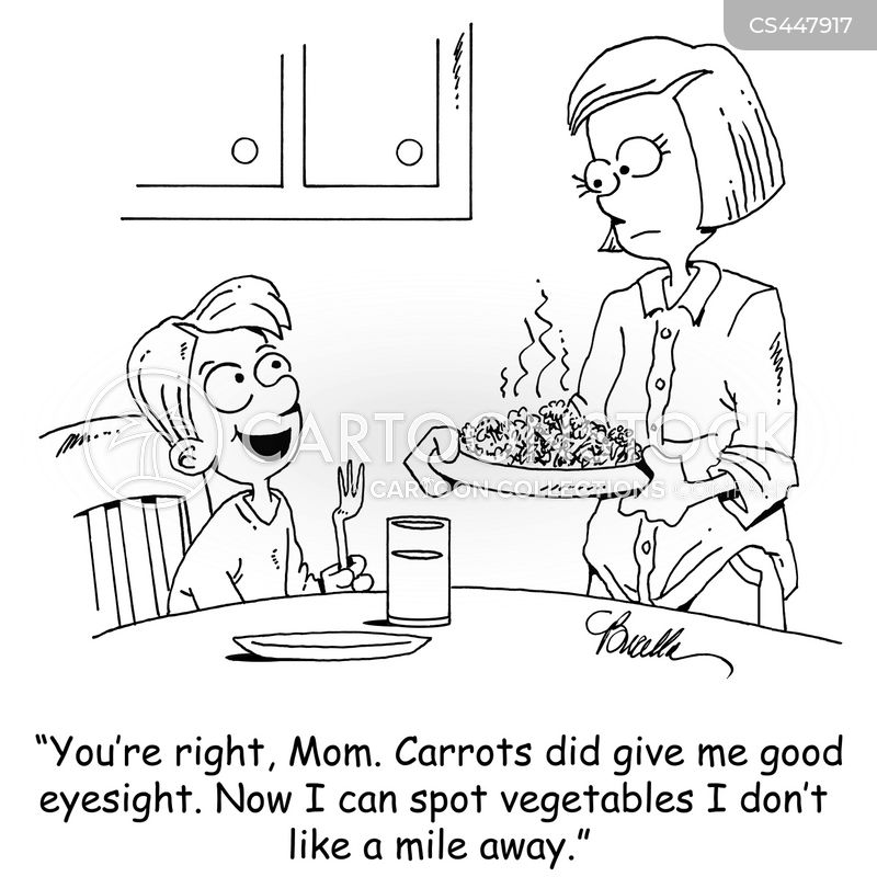 vitamin a cartoon