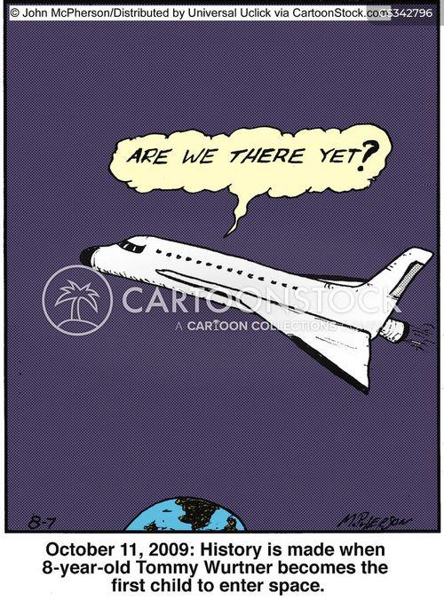 shuttle cartoon