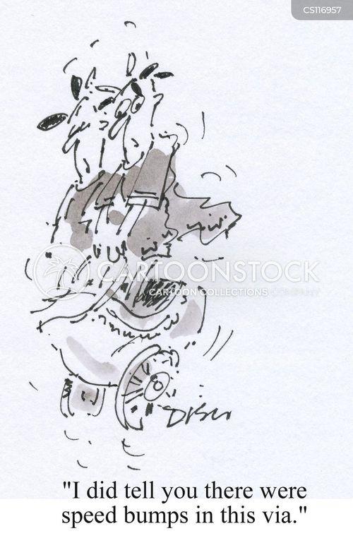 bumpy cartoon