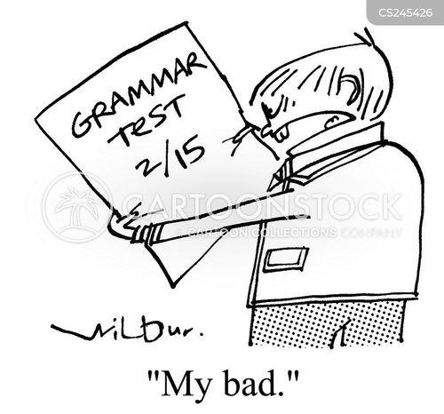 my bad cartoon
