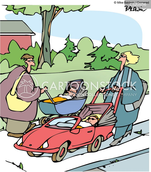 pushchair cartoon