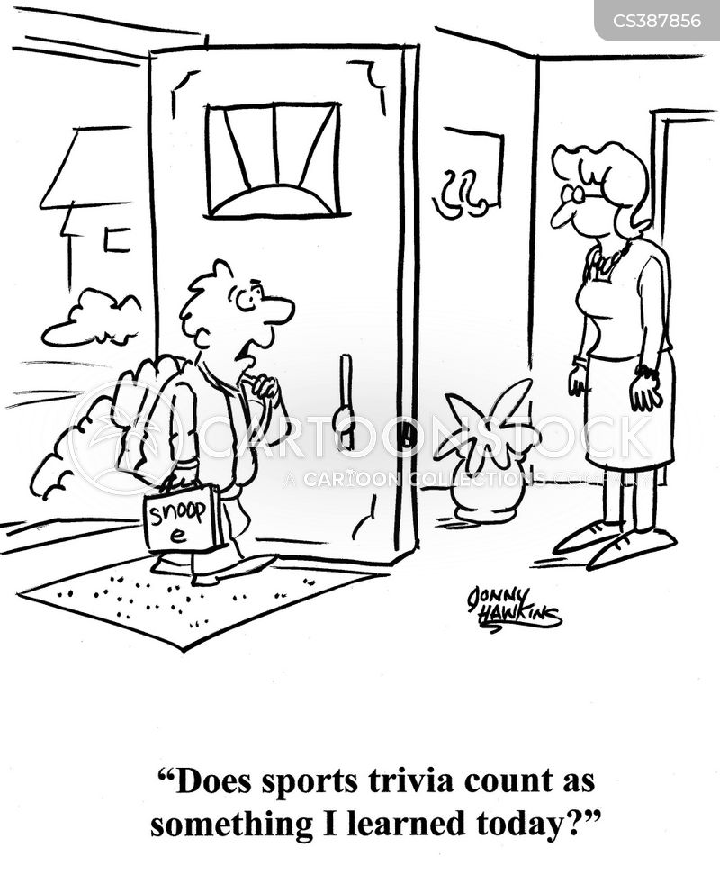 extracurricular activity cartoon