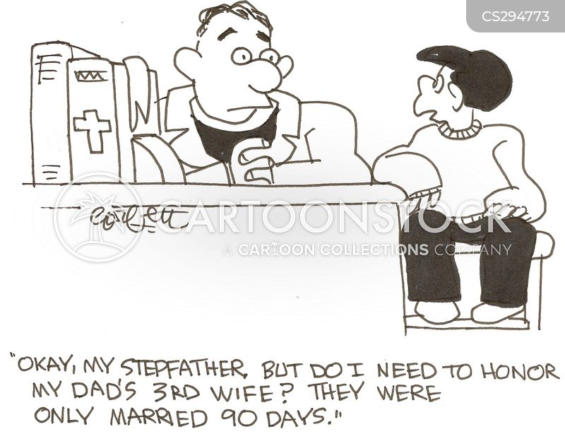 step parent cartoon
