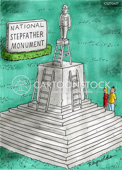stepladders cartoon