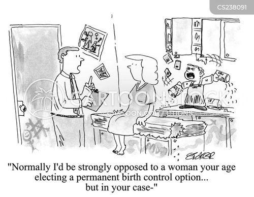 sterilised cartoon