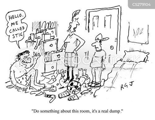 Tidy Your Room Cartoon 4 Of 6