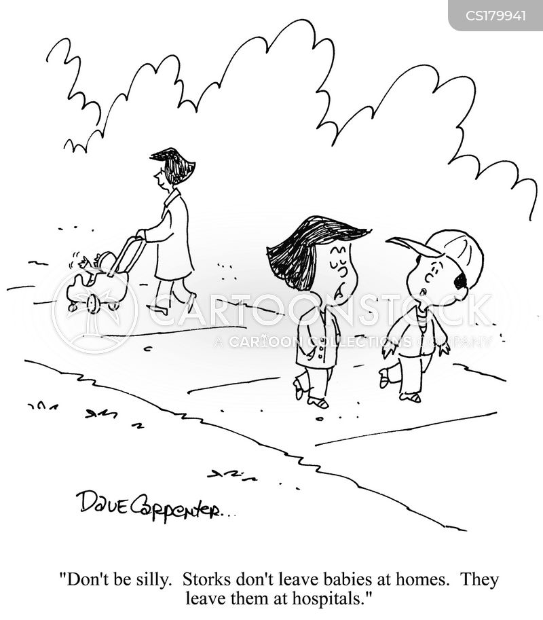 stork cartoon