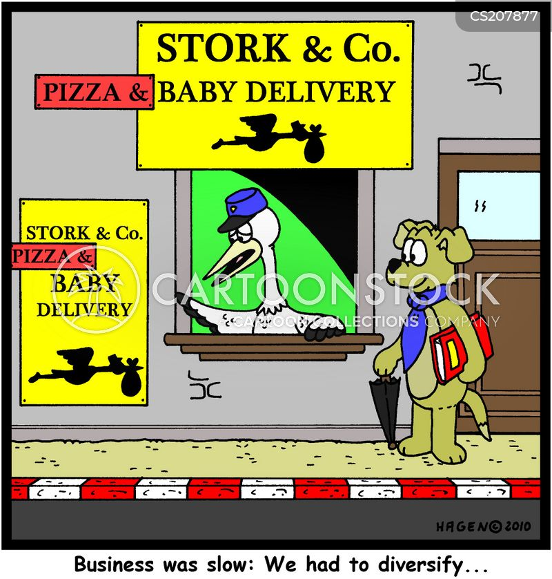 diversify cartoon