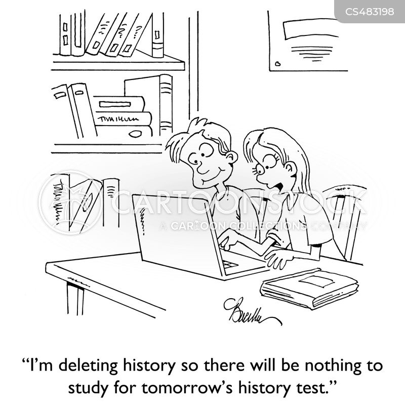internet history cartoon