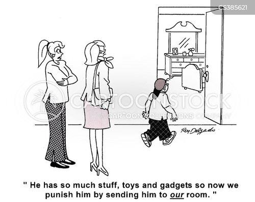 go to your room cartoon