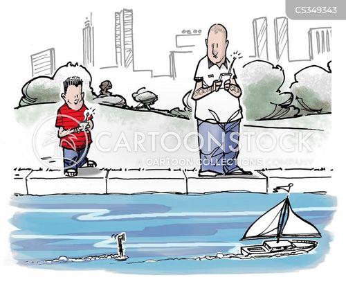 toy boats cartoon