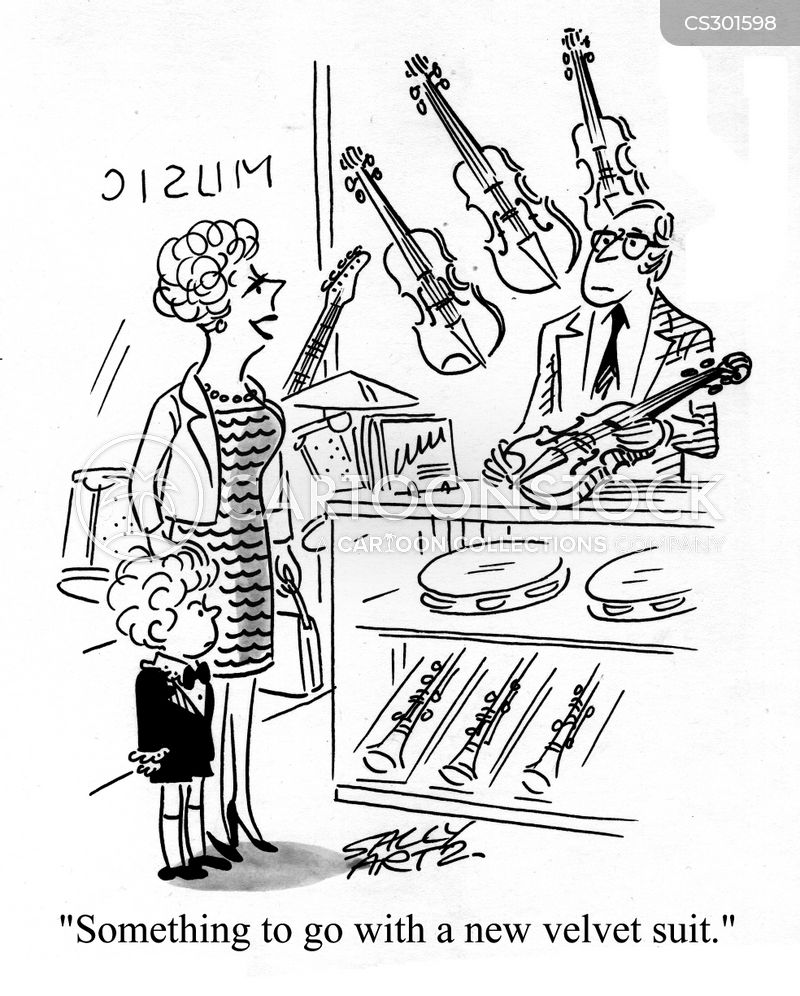 learning instruments cartoon