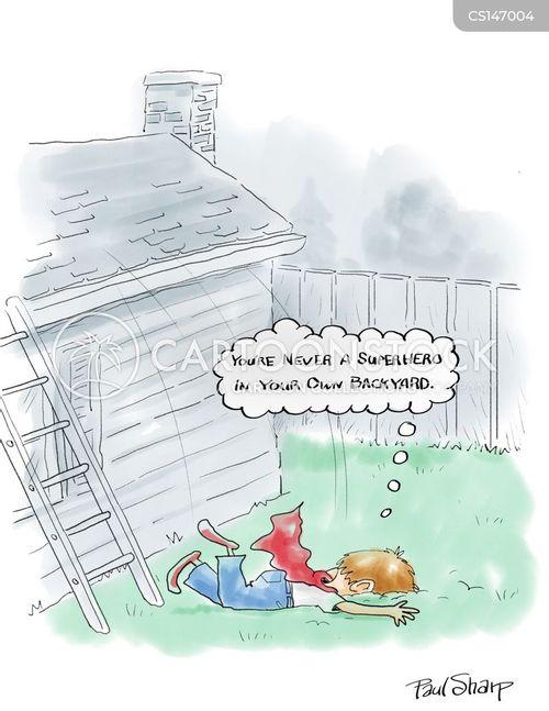 backyards cartoon