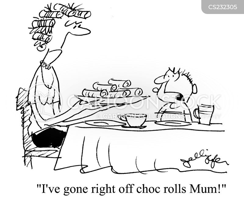 shocking news cartoon