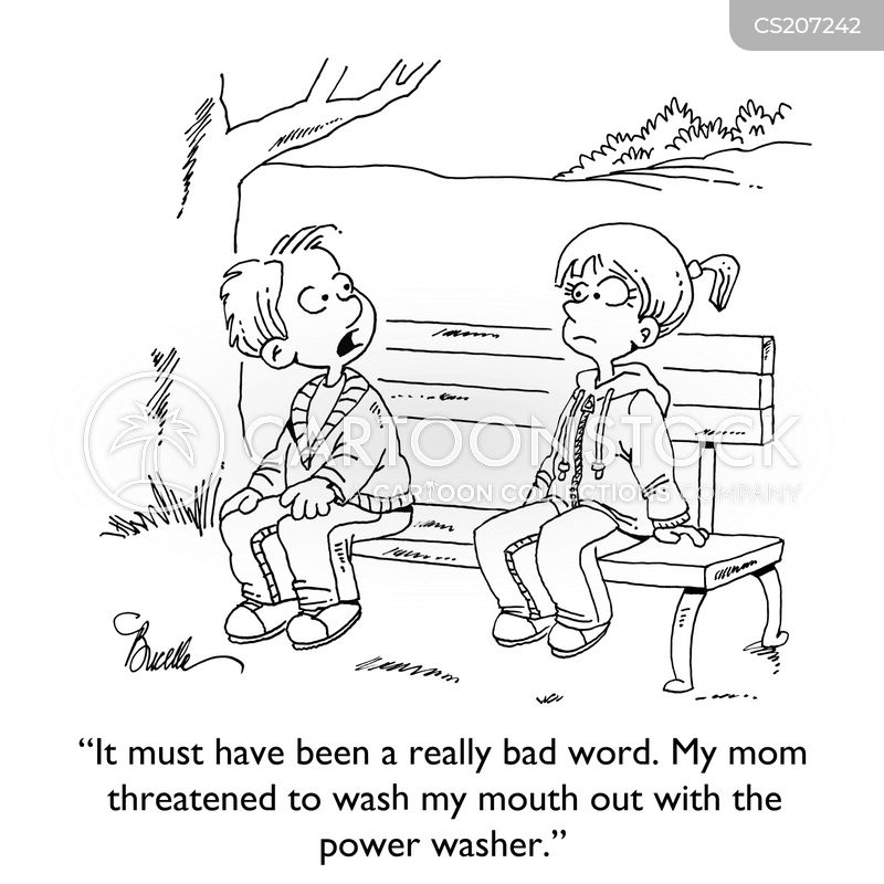 curse word cartoon