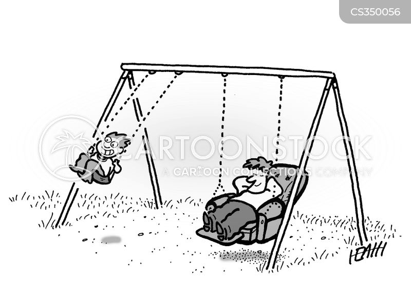 Swing Chair Cartoons And Comics Funny Pictures From