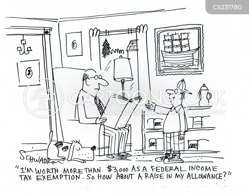exemption cartoon
