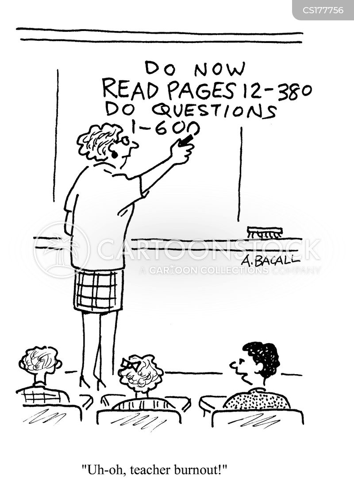 course cartoon