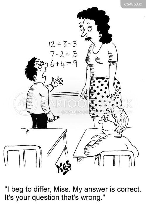 smart-alec cartoon
