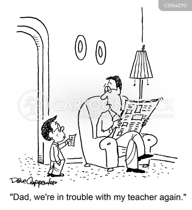 parents nights cartoon