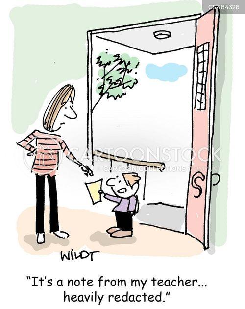 redaction cartoon