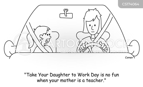 take your child to work cartoon